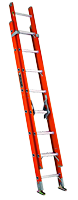 Louisville<sup>™</sup> Type I-A Rated Industrial Fiberglass Extension Ladders