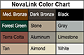 Novalink Color Chart