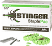 Stinger Cap Staples